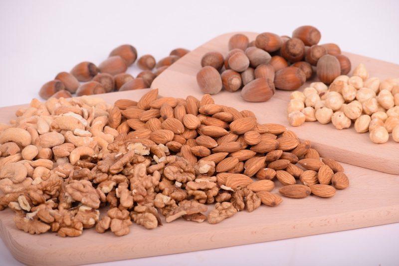 ořechy a arašídy jako alergeny