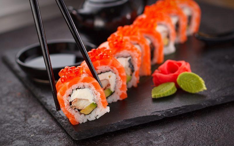 alergie na sushi