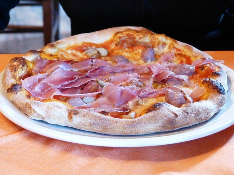 šuknová pizza