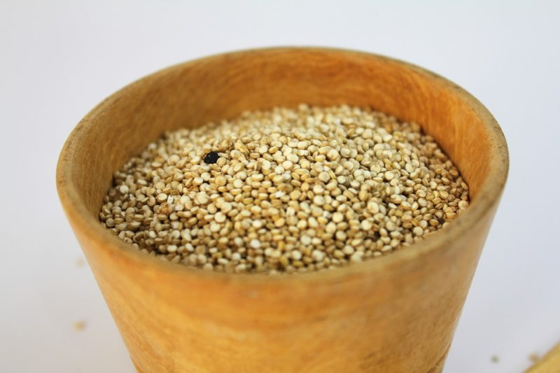 amarantová semínka