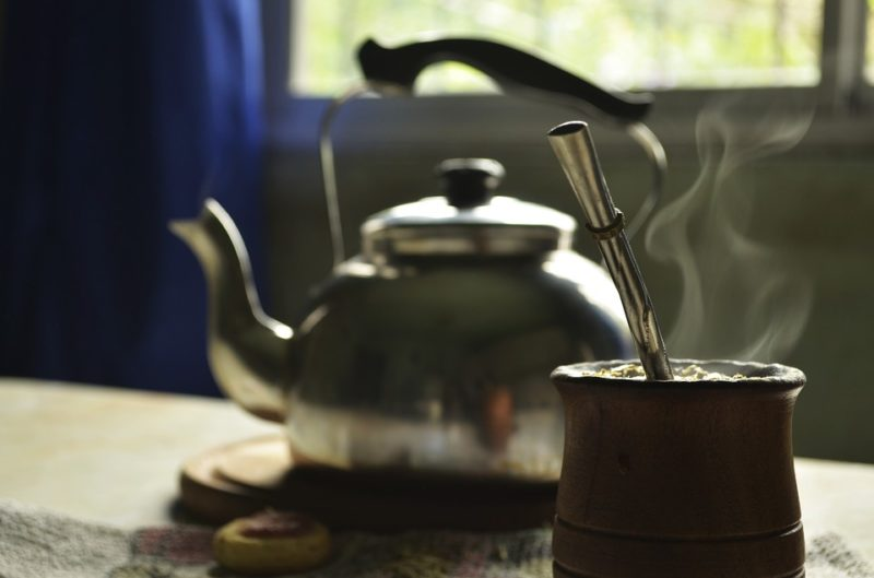 yerba maté čaj