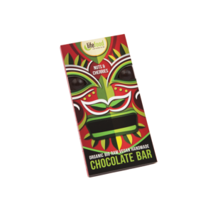 Lifefood Čokoláda s ořechy a třešněmi RAW & BIO (70 g)