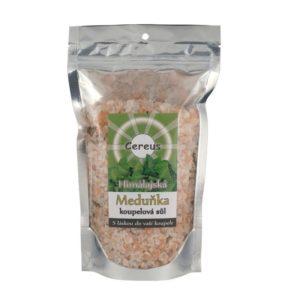 Cereus Himálajská koupelová sůl - meduňka (uzavíratelný sáček 500 g)