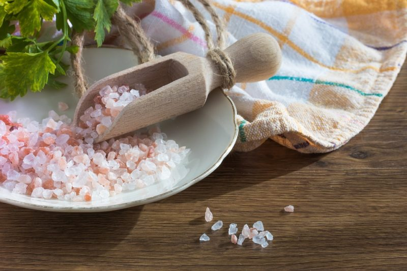 růžová sůl