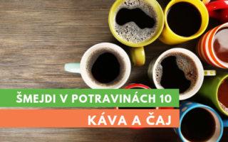 ošizená káva a čaj