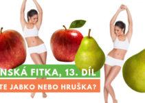 Ženská fitka 13 - postava jablko a hruška