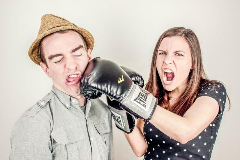 ženská bojová cvičení