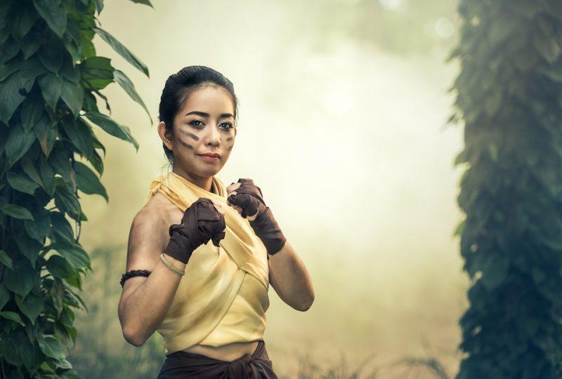 bojové sporty pro ženy