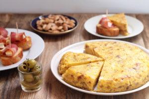 bramborová tortilla podle Pavly z Foodnotes.cz