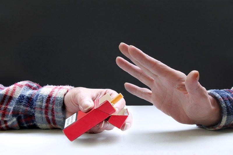 odmítnutí cigarety