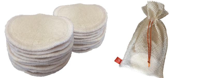 pratelné odličovací tampony