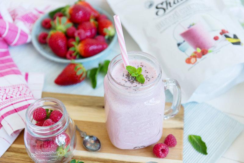 Chia Shake Dietní koktejl jahoda+malina