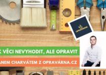 Rozhovor s Janem Charvátem z Opravovna.cz a OpravmeCesko.cz