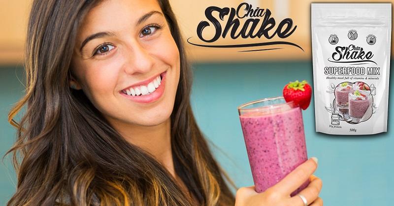 chia shake superfoods