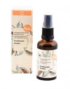 masážny bambucký olej Navia