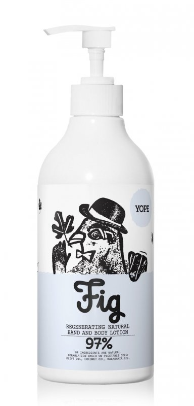 Fíkové tělové mléko Yope