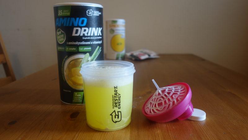 Restart Energy Aminodrink a shaker