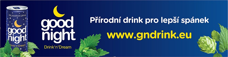 good night drink banner