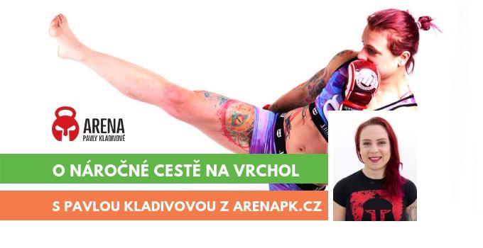 rozhovor s Pavlou Kladivovou z ARENA