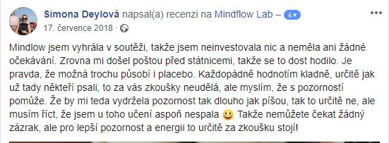 spokojená recenze mindflow