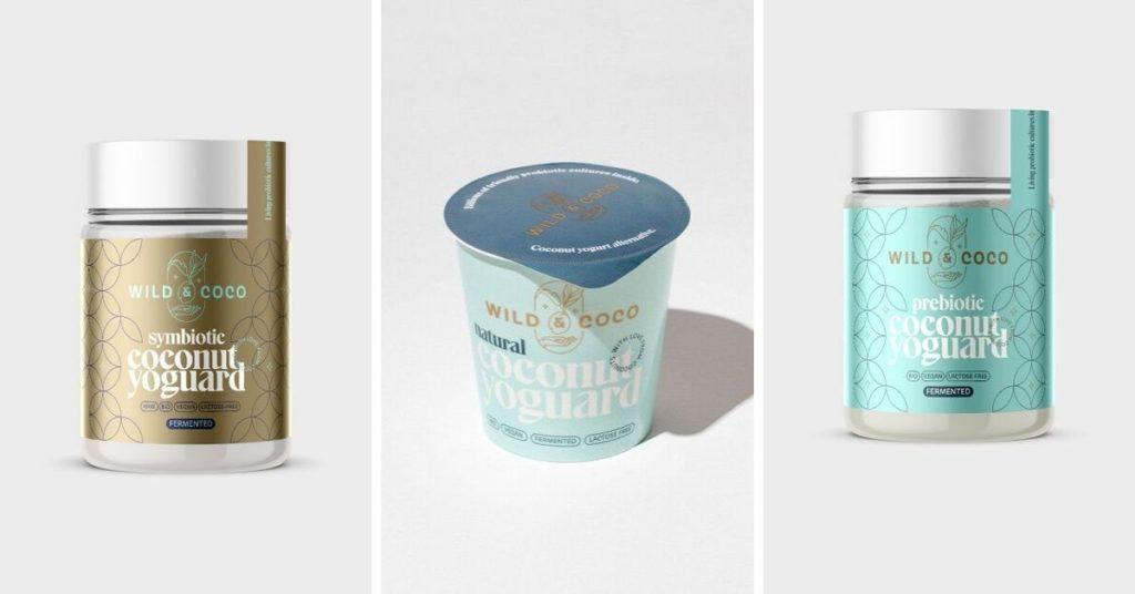 kokosové jogurty wildandcoco