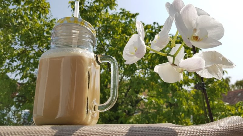 nápoj z kokosového mléka
