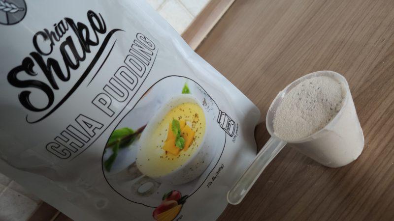 vanilkový chia pudink Chia Shake