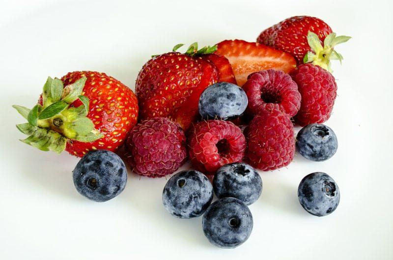 ovoce během ketodiety