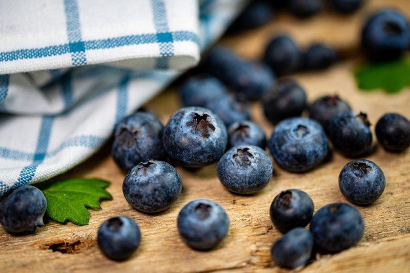 borůvky se smetanou během ketonové diety