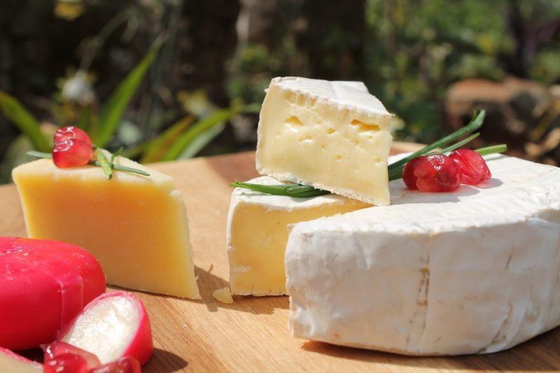 sýr během ketodiety