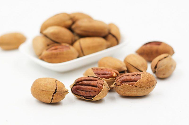 ořechy a semena během ketodiety