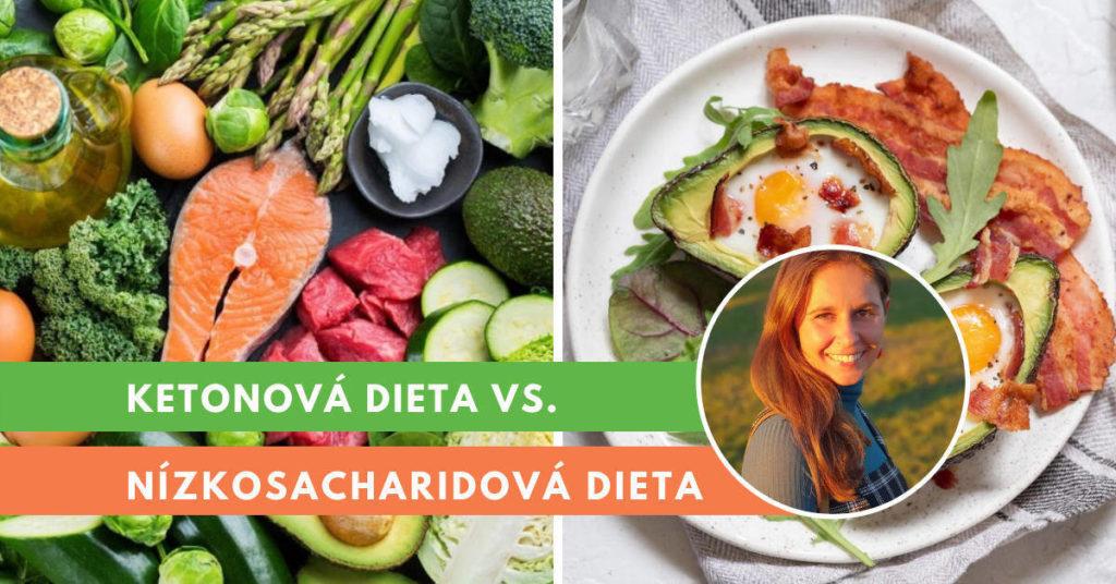 rozdíly mezi ketonovou a nízkosacharidovou dietou