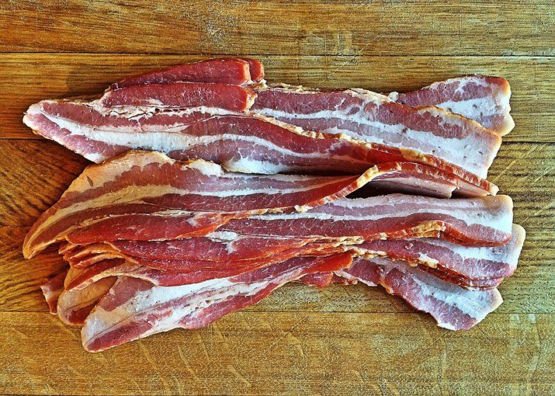 slanina během ketodiety