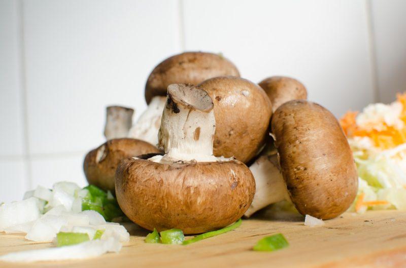 houby během ketogenní diety