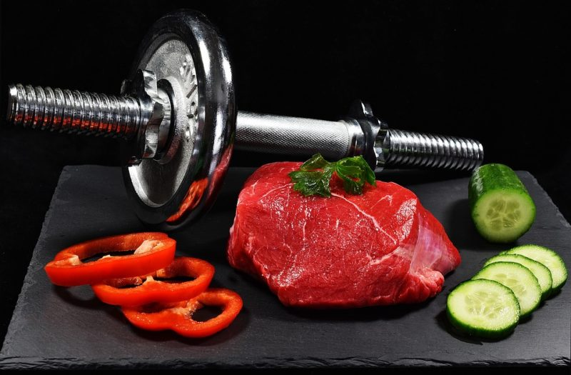 maso a pohyb během ketodiety