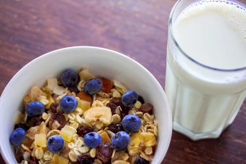 mléko, zdroj vitamínu B2
