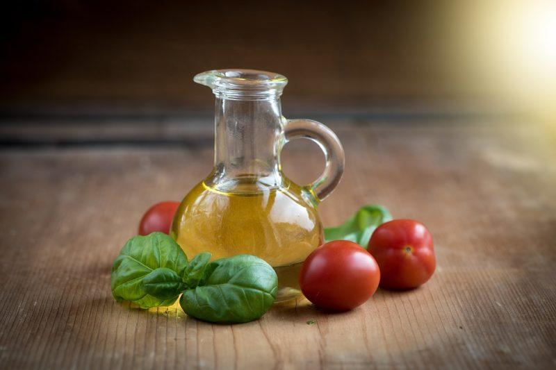 rostlinný olej během ketodiety