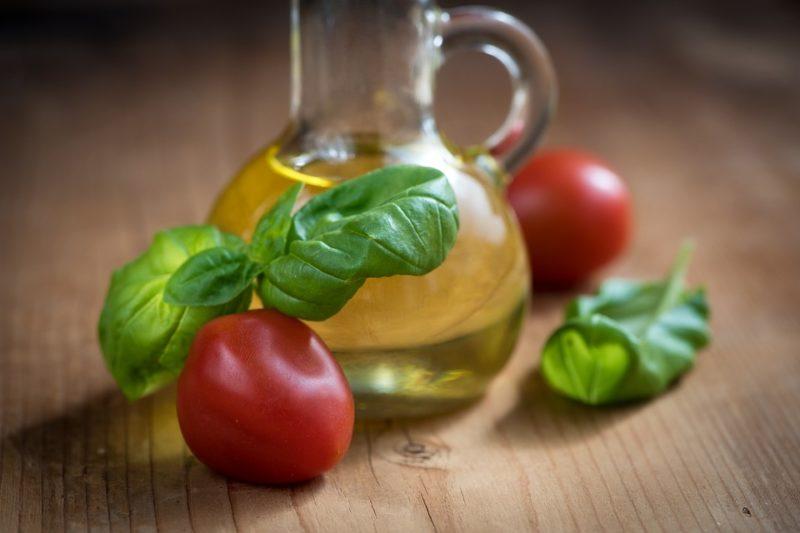 rostlinné oleje během ketodiety