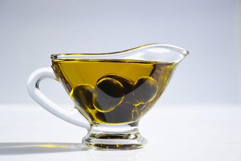 rostlinný olej během vegetariánské keto diety
