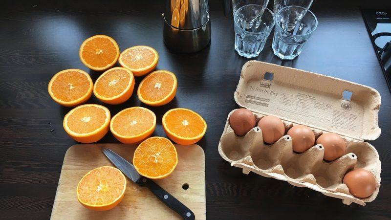 pomerančovo-vajíčková dieta