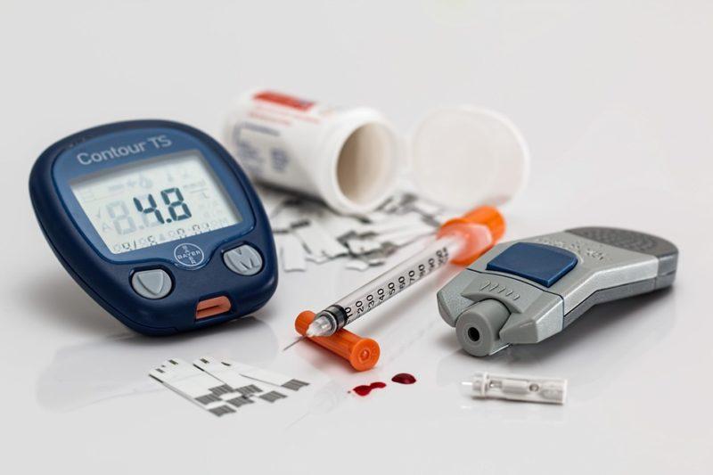 kontrola cukrů u diabetiků