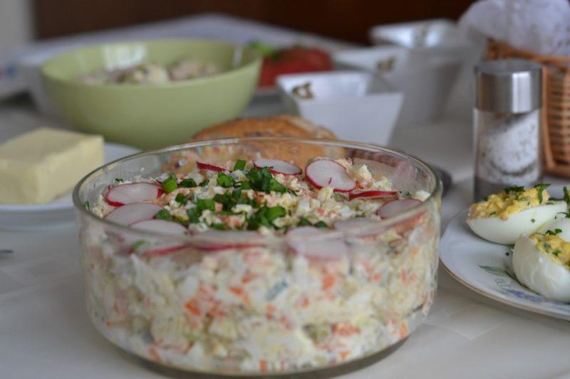 dietní vajíčkový salát