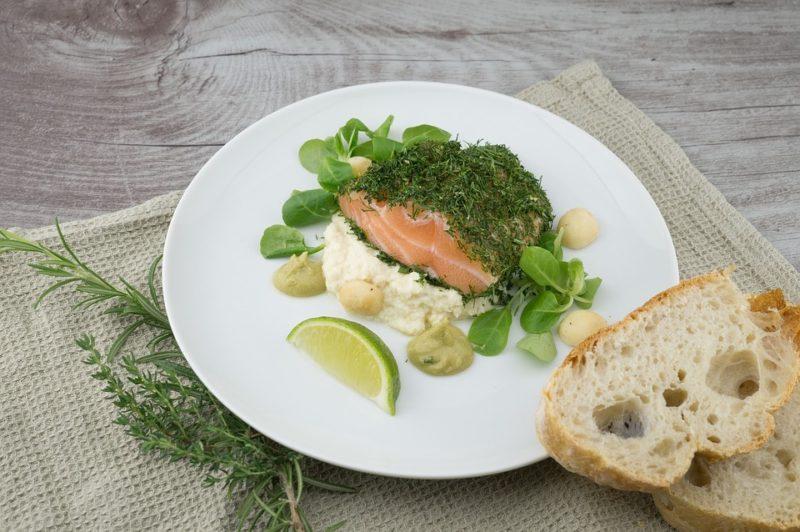 losos, zdroj bílkovin