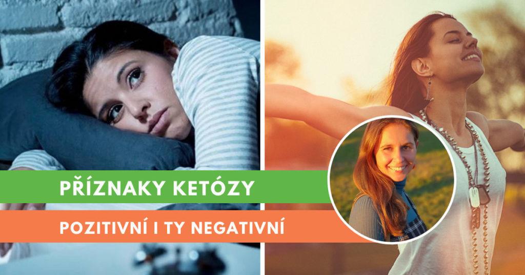 příznaky ketózy