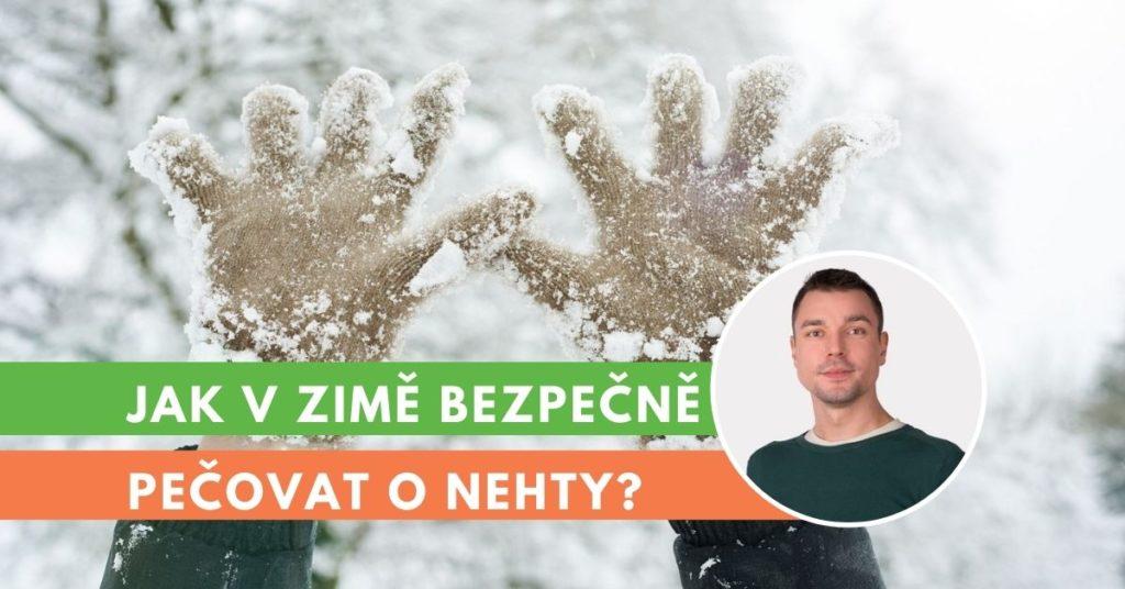 jak v zimě pečovat o nehty?
